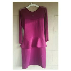 Peplum Dress Size XL